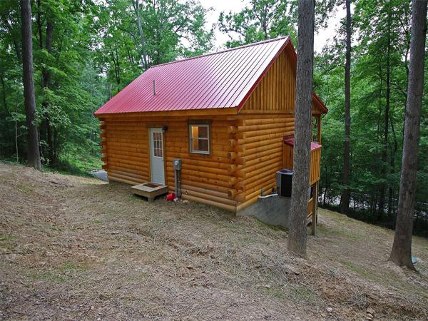 little pine cabin hocking hills premier cabins located