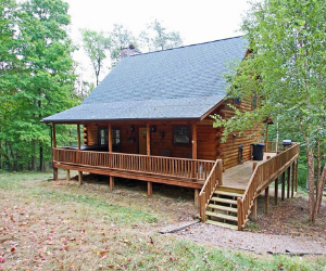 Rustic Birch Cabin - Hocking Hills