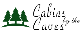 cabins by the caves logo