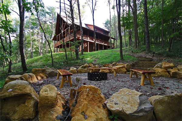 Gray Wolf Lodge - Hocking Hills - Old Man U0026 39 S Cave