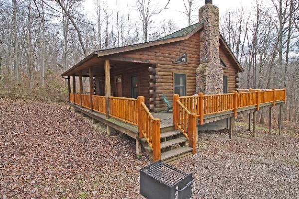 Hillside Cabin Hocking Hills Old Man S Cave Ohio