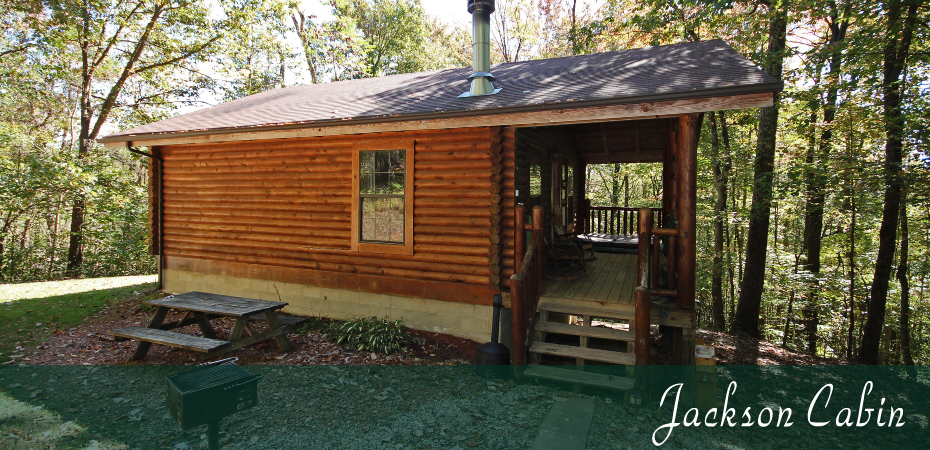 Jackson Cabin in Old Man's Cave, Hocking Hills