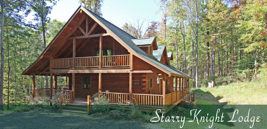 Starry Knight Lodge in Hocking Hills